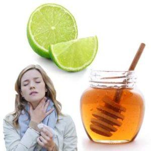 Miel de abeja para la garganta