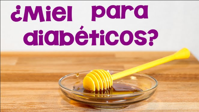Miel para diabeticos